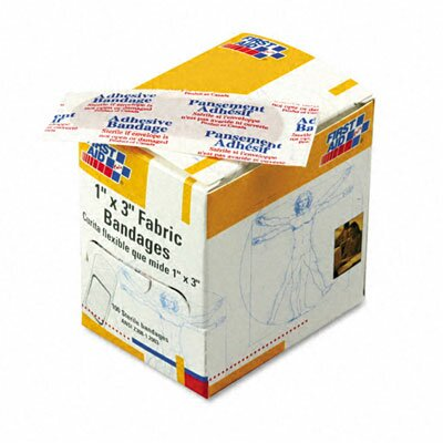 Fabric Bandages, 100/Box by First Aid Only™