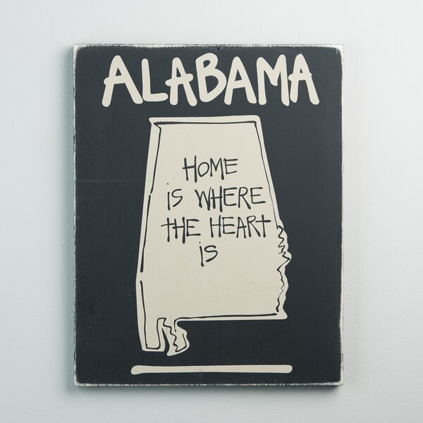 Alabama State Graphic Art by Glory Haus