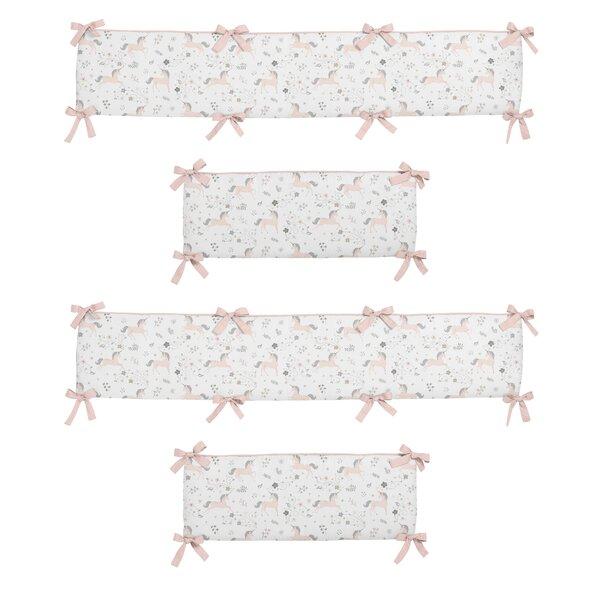 Unicorn Crib Bumper by Sweet Jojo Designs