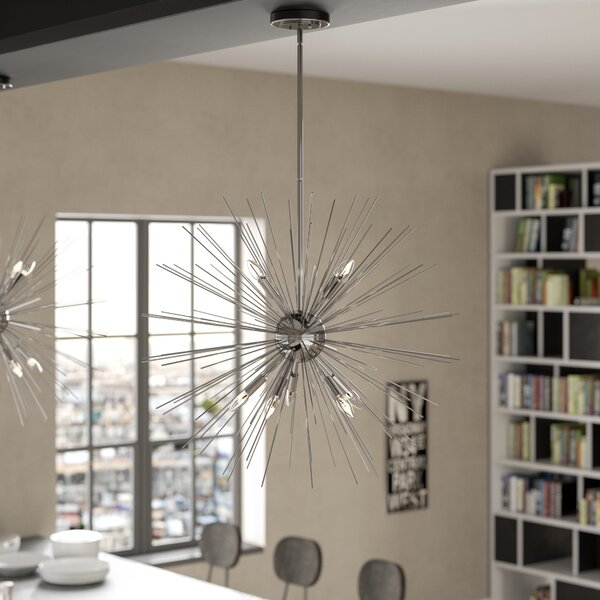 Antonie 9-Light Sputnik Chandelier by Trent Austin Design