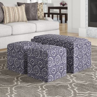 Look for Mahoney 3 Piece Storage Bench and Ottoman Set By Andover Mills