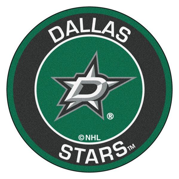 NHL Dallas Stars Roundel Mat by FANMATS