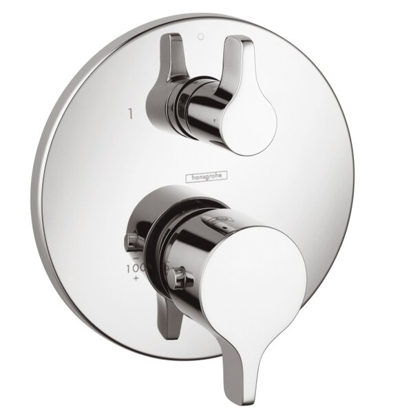 Thermostatic Volume Control Faucet Trim with Lever Handle by Hansgrohe