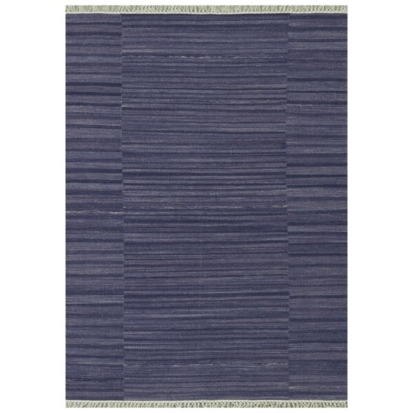 Barret Hand-Woven Purple Area Rug by Highland Dunes