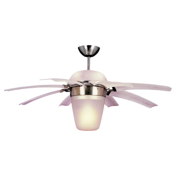 44 Beaton 8 Blade Ceiling Fan with Remote by Fleur De Lis Living