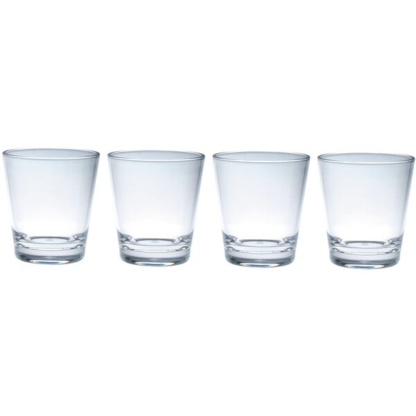 Concept Double Old Fashioned 14 oz. Drinkware Set (Set of 4) by Chenco Inc.
