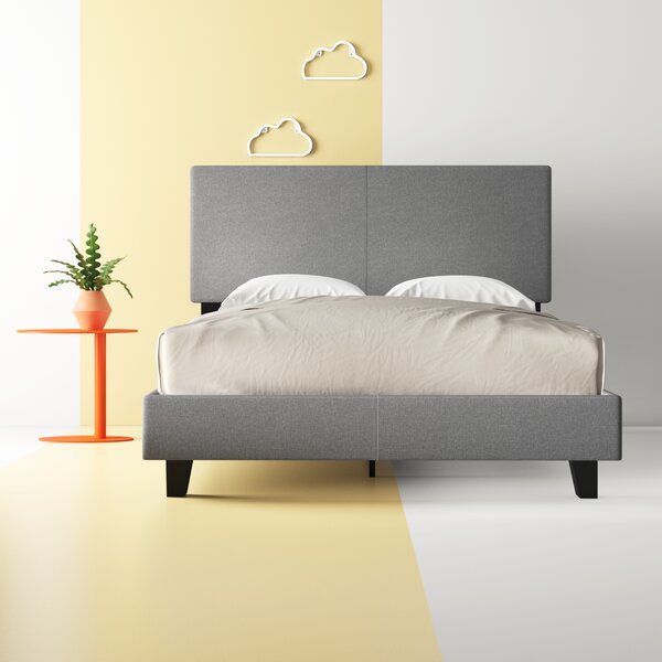 Keefe Upholstered Platform Bed by Hashtag Home