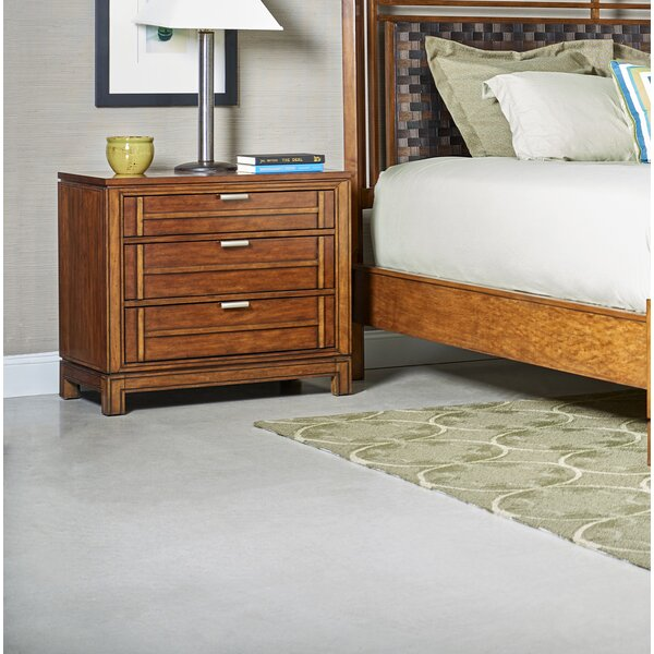 Leonid 3 Drawer Bachelors Chest by Charlton Home