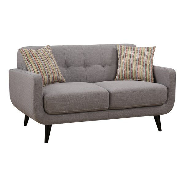 Tifton Mid-Century Loveseat by Ivy Bronx