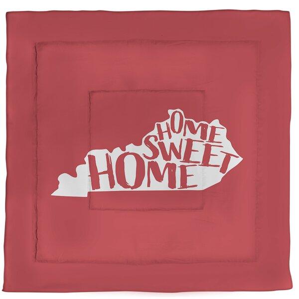 Home Sweet Kentucky Single Reversible Comforter