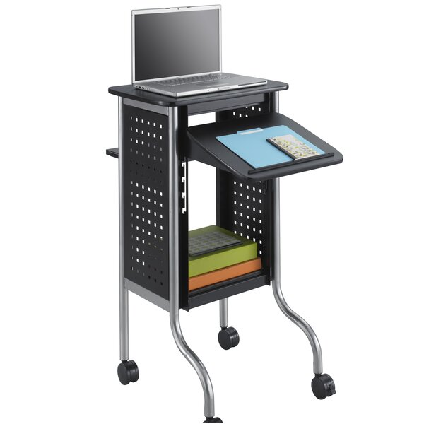 Scoot Presentation AV Cart by Safco Products Company