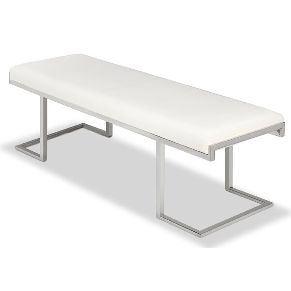 Sherer Metal Bench by Orren Ellis Orren Ellis