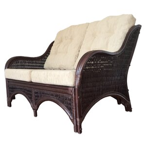 Karmen Rattan Wicker Loveseat by Rattan Wicker Home Furniture
