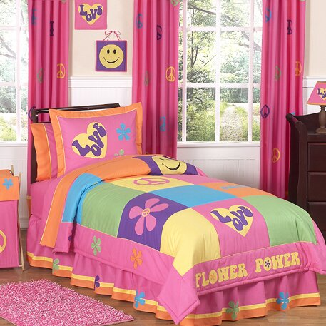 Groovy Comforter Set by Sweet Jojo Designs