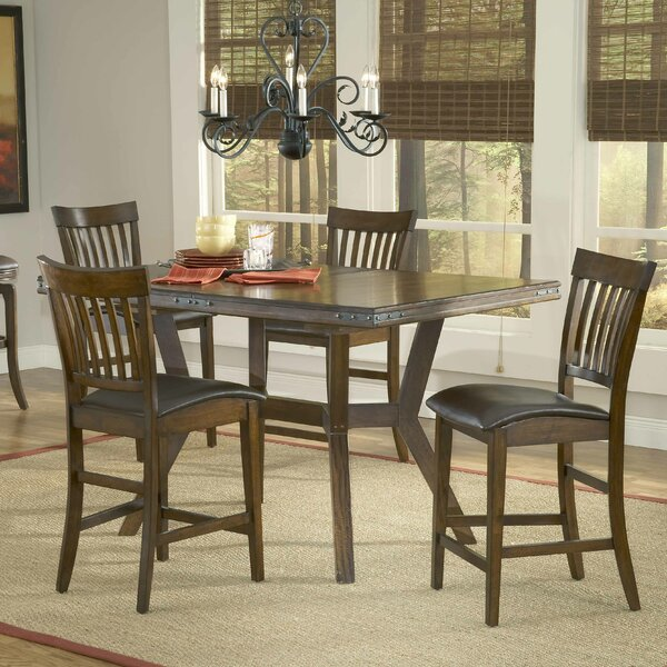 Harkness 5 Piece Dining Set by Loon Peak