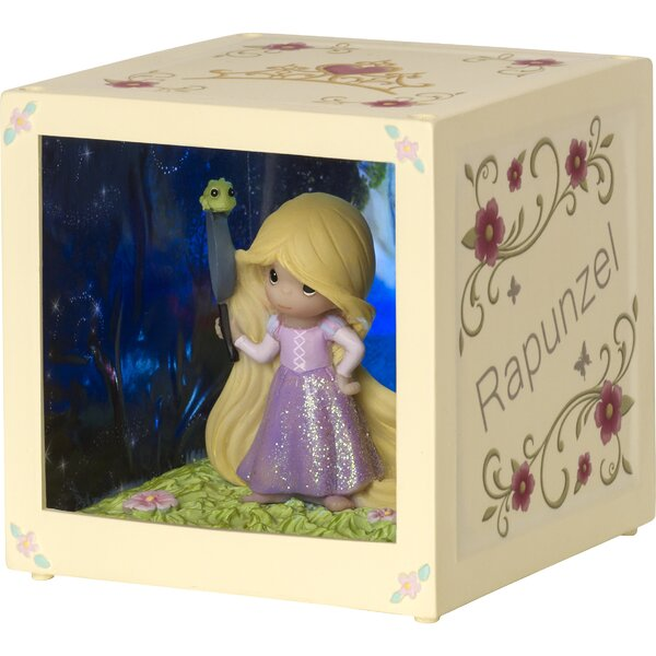 Disney Showcase Rapunzel Resin/Vinyl LED Decorative Box by Precious Moments