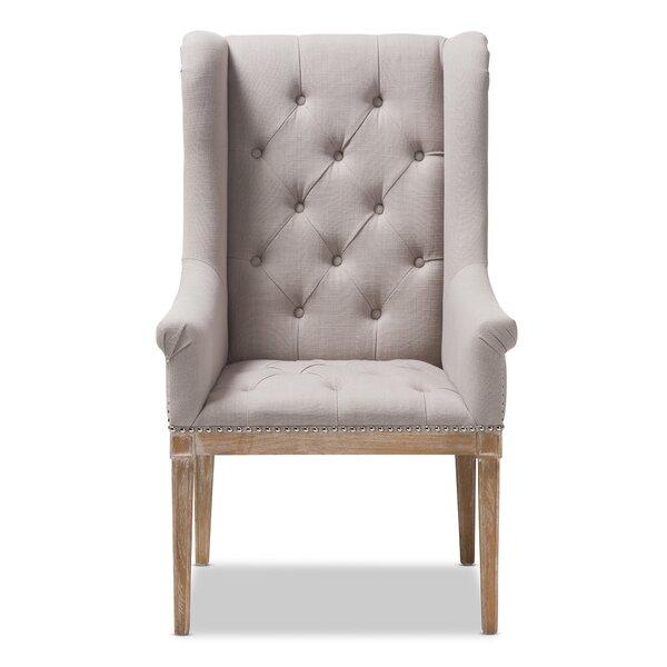Rosnov Armchair by Gracie Oaks