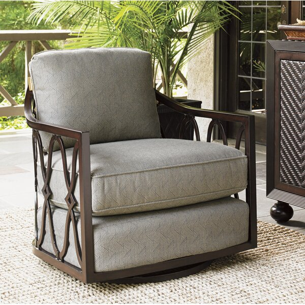 Sands Swivel Patio Chair with Cushion by Tommy Bahama Outdoor Tommy Bahama Outdoor