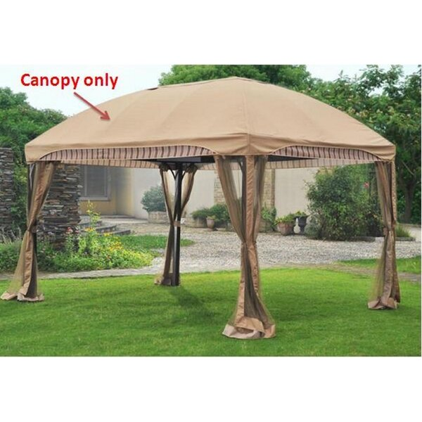 Replacement Canopy for Curve Gazebo by Sunjoy