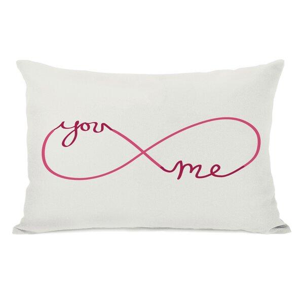 Infinite You Me Lumbar Pillow by One Bella Casa