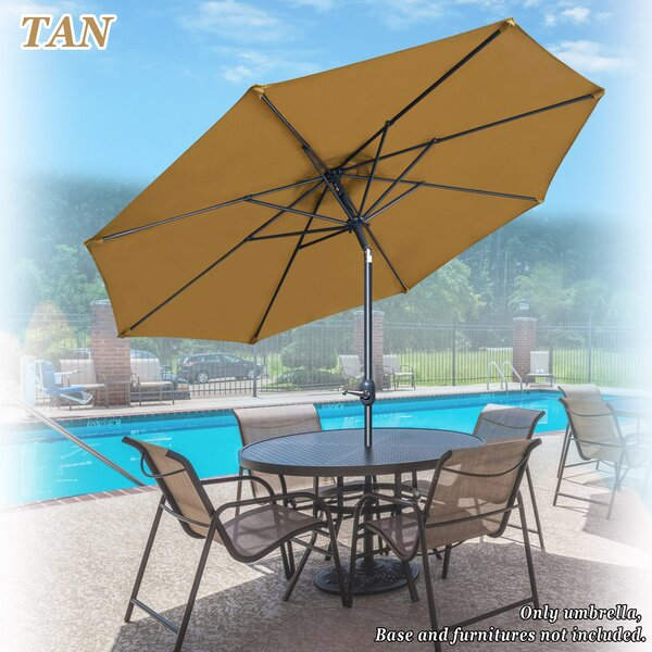 Tallassee 9' Beach Umbrella by Highland Dunes Highland Dunes