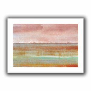 Landscape Autumn' by Cora Niele Painting Print on Rolled Canvas by ArtWall