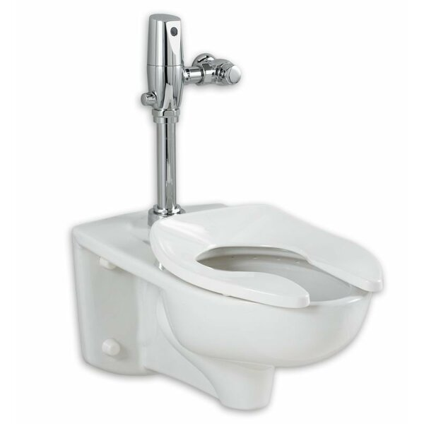 Afwall System 1.28 GPF Elongated One-Piece Toilet by American Standard