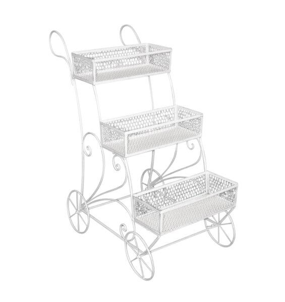 3 Tier Cart Plant Stand by Sagebrook Home