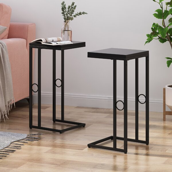Ginevra Modern 2 Piece End Tables By Latitude Run