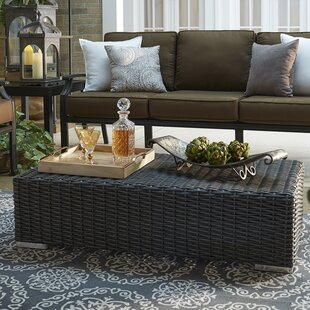 Rathdowney Aluminum/Wicker Picnic Bench by Darby Home Co