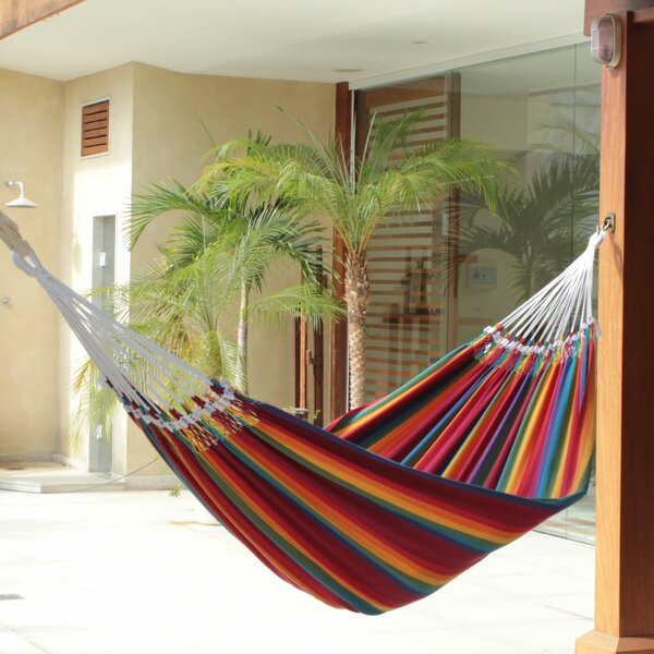 Striped Cotton Tree Hammock by Novica