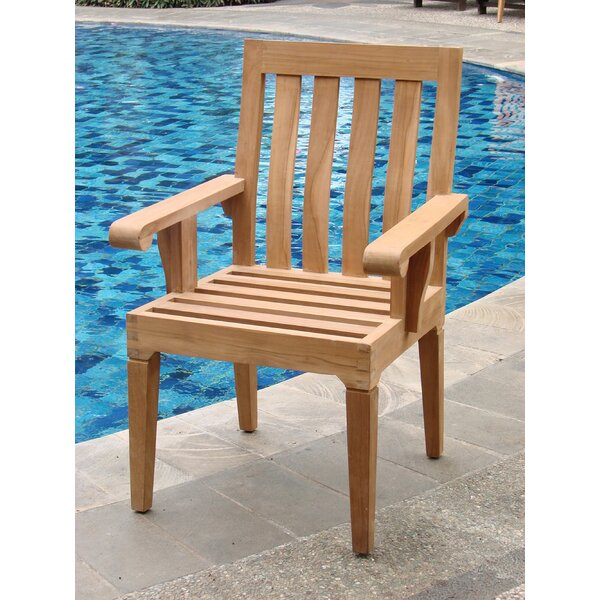 Caranas Folding Teak Patio Dining Chair by Teak Smith