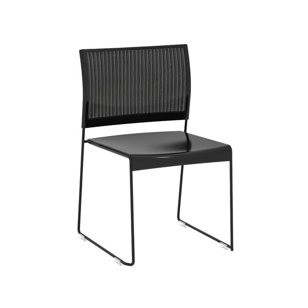 Levasseur Armless Stacking Chair (Set of 4) by Latitude Run