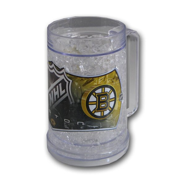 NHL Beer Glass 16 oz. Crystal by DuckHouse