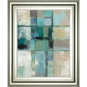 'Island Hues Crop 2' Framed Painting Print by Latitude Run
