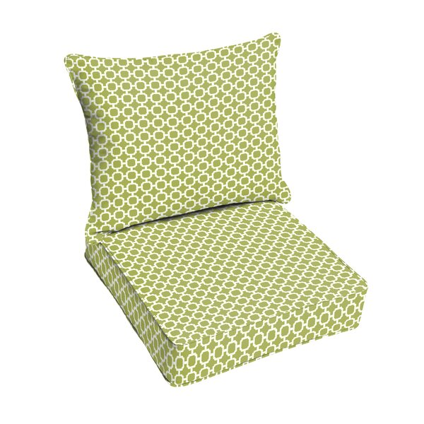 Pear Indoor/Outdoor Lounge Chair Cushion