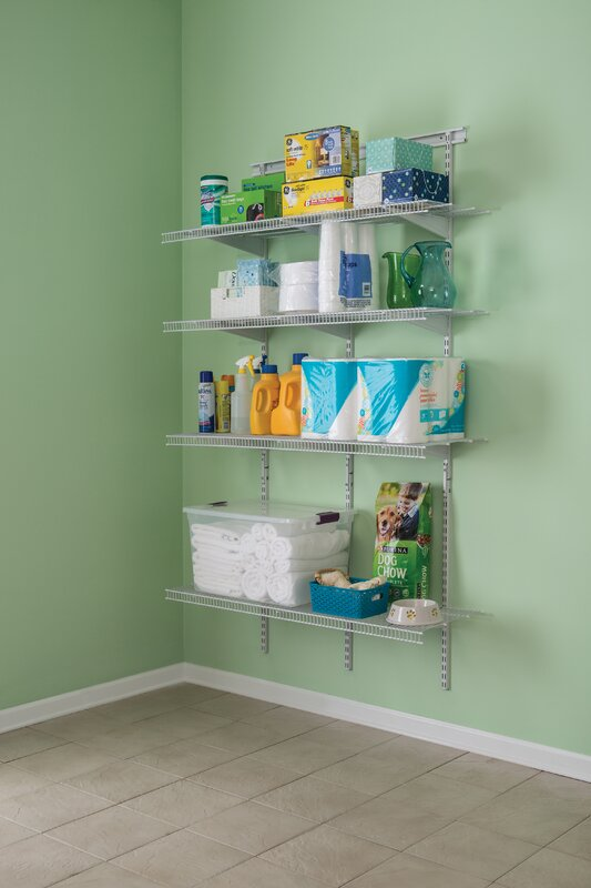 ShelfTrack 48 W Pantry Wall Shelf