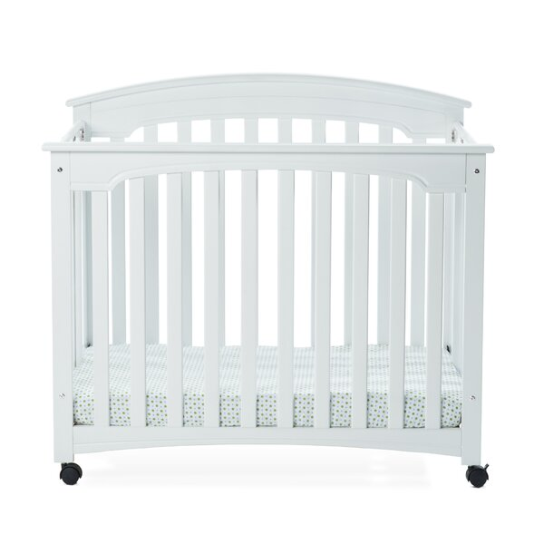 Stanford Folding Crib with Mattress by Child Craft
