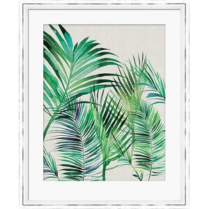 'Palm Leaves' Painting Print