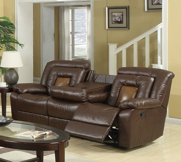 Kmax Leather Reclining Sofa Part 89