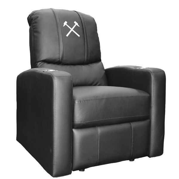 West Ham United Hammers Logo Stealth Manual Wall Hugger Recliner By Dreamseat