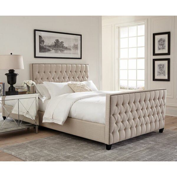 Leilani Upholstered Standard Bed by Darby Home Co