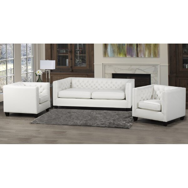 Devito 3 Piece Living Room Set by Darby Home Co