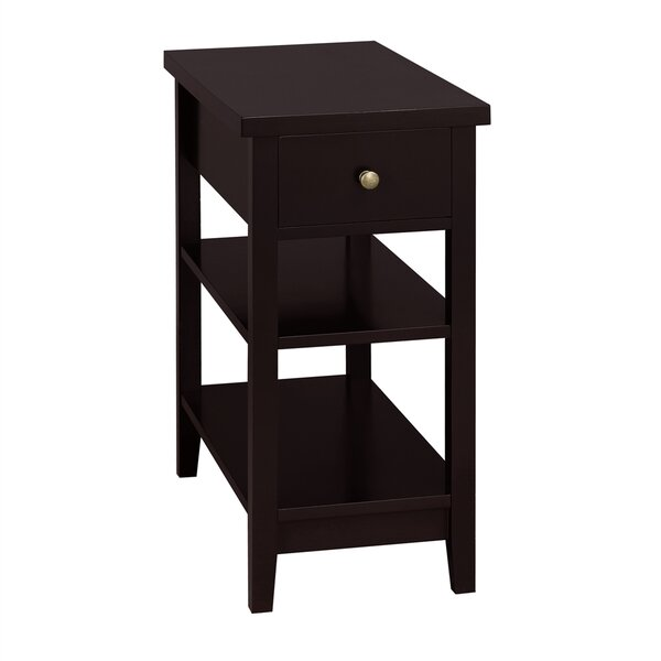 4 Legs End Table With Storage By Winston Porter