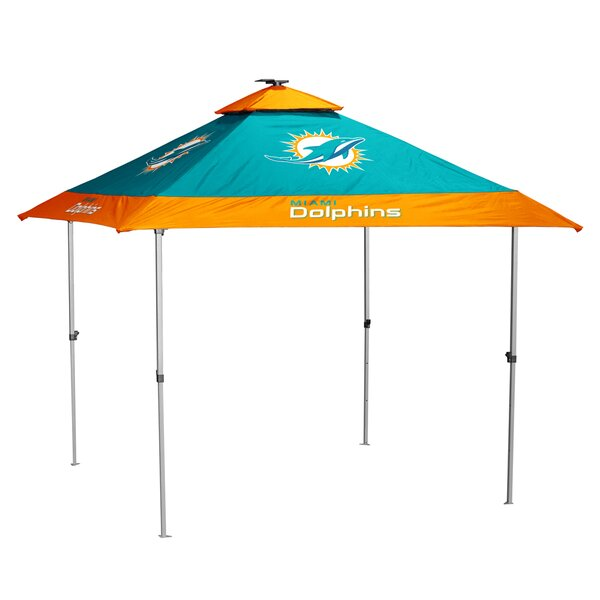 Pagoda 10 Ft. W x 10 Ft. D Steel Pop-Up Canopy by Logo Brands
