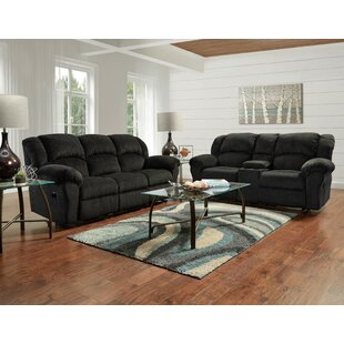 Eneida Reclining 2 Piece Living Room Set by Winston Porter