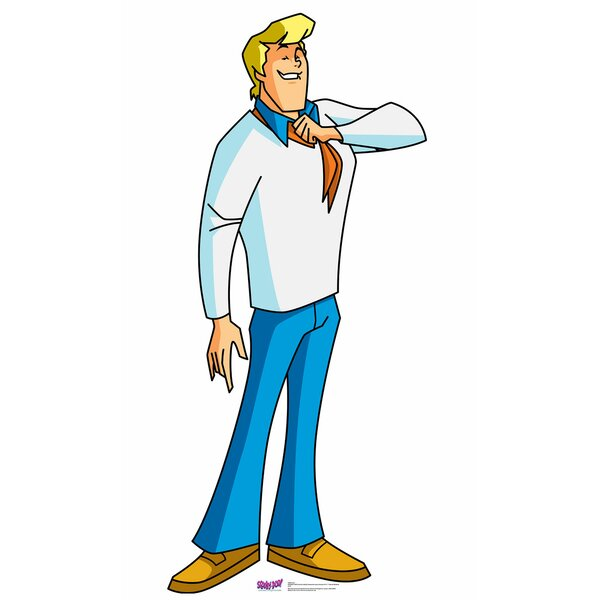 Scooby-Doo Mystery Incorporated Fred Standup by Advanced Graphics