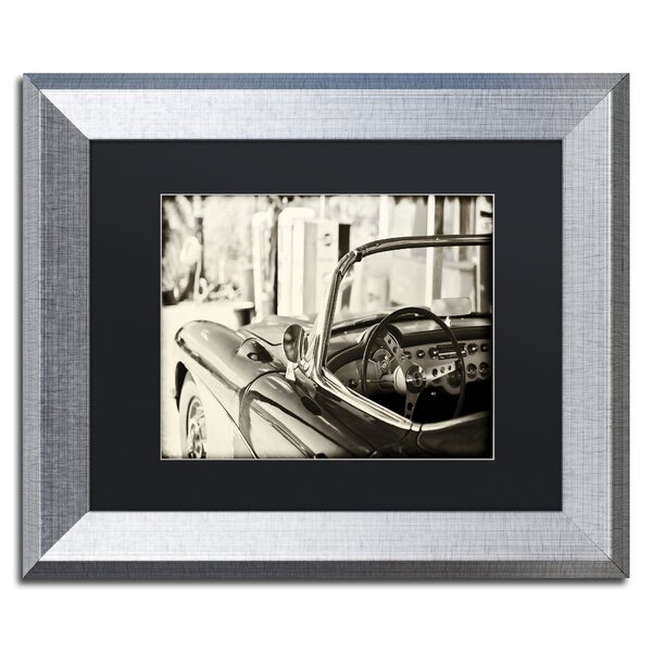 Classic Car by Philippe Hugonnard Framed Photographic Print by Trademark Fine Art