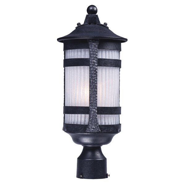 Jannie Outdoor 1-Light Lantern Head by Latitude Run