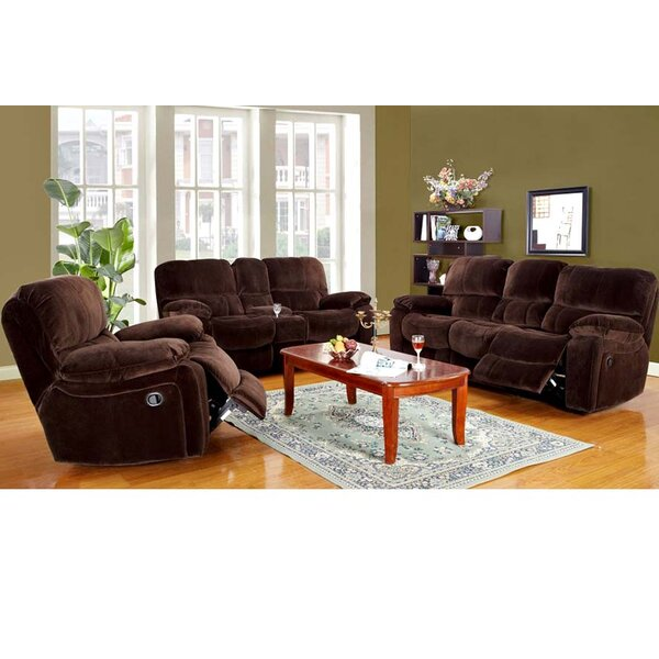 Rashida Reclining Configurable Living Room Set by Red Barrel Studio